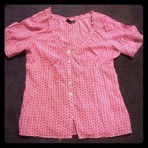 Women's Sonoma short sleeve button up blouse